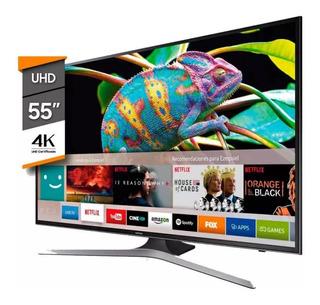 Smart Tv 55 Led Ultra Hd 4k Samsung Mu6100 - 120 Fps