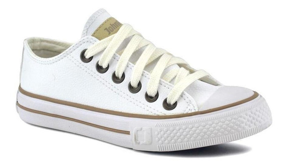 Zapatilla John Foos Unisex All Night White