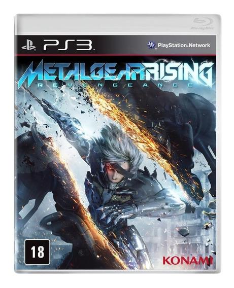 Game Metal Gear Rising - Ps3 - Lacrado