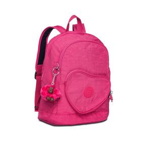 Mochila Infantil Heart Rosa Cerise Pink Kipling