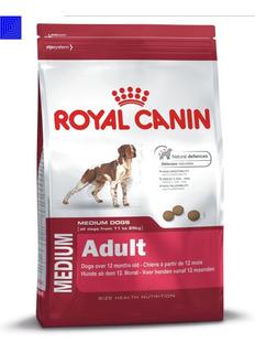 Royal Canin Medium Adult 13.6 Kg Envio Gratis