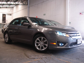 Ford Fusion Sel Piel Qc Gps Dvd Bluetooth Llantas Nuevas