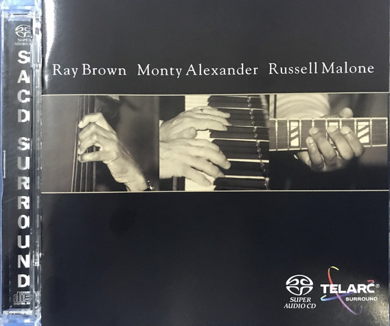 Sacd Ray Brown Monty Alexander Russell Malone -multichannel