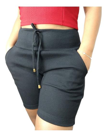 Shorts Feminino Atacado Bermudas Femininas Cintura Alta