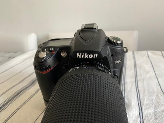 Kit Corpo Nikon D90 Dx + Lente 18-105mm - Brinde Grip!