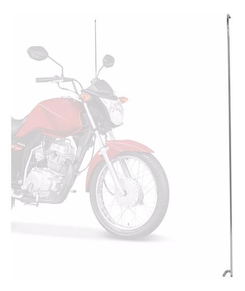 Antena Corta Pipa Moto Universal Fixa Anti Cerol Pro Tork