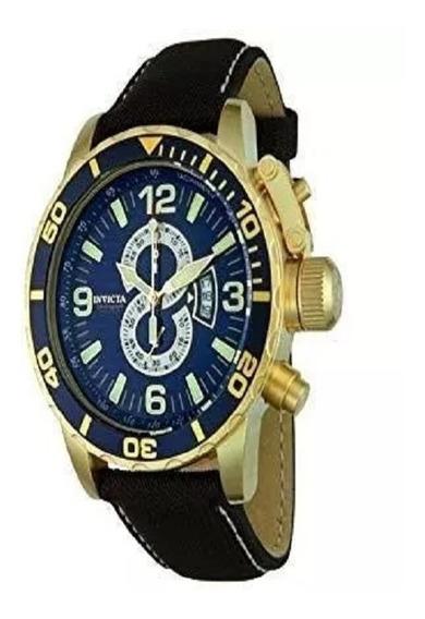 Relógio Masculino Invicta De Couro 4904 Original Novo