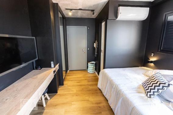 Studio No 5º Andar Mobiliado Com 1 Dormitório - Id: 892971851 - 271851