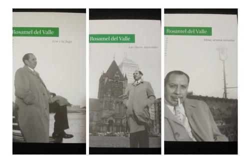 Rosamel Del Valle, Pack 3 Obras