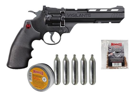 Revolver Vigilante 465 Fps+diabolos+municiones+co2 Crosman