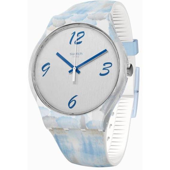 Relógio Swatch Bluquarelle - Suow149