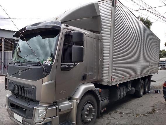 Volvo Vm 270 6x2 Truck Ano 2014 Baú, Completo, Único Dono.