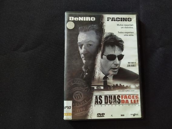 As Duas Faces Da Lei - Righteous Kill (dvd Original)