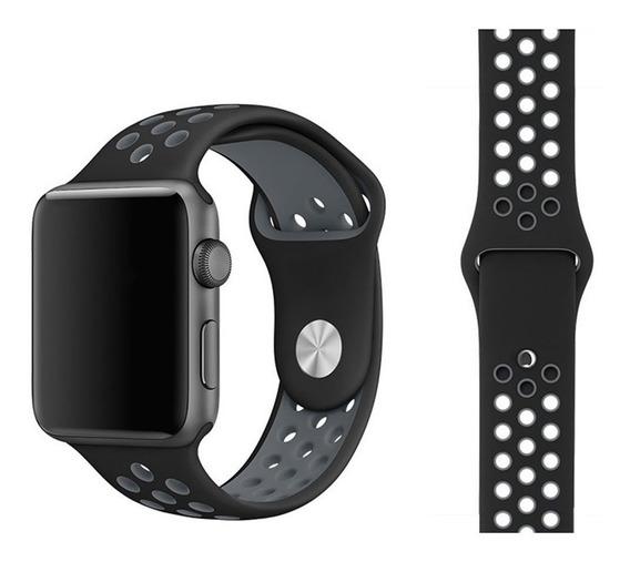 Correa Extensible Sport Silicon Para Apple Watch Series 1234