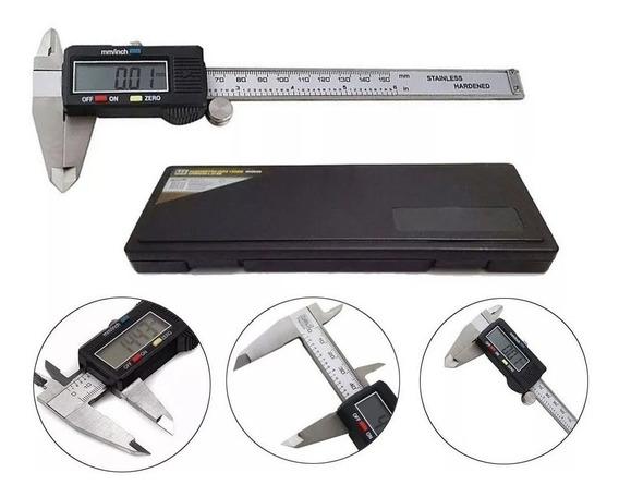 Paquímetro Digital 150mm - Mtx