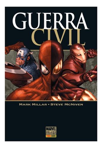 Marvel Deluxe Guerra Civil Panini Books Livro Vingadores