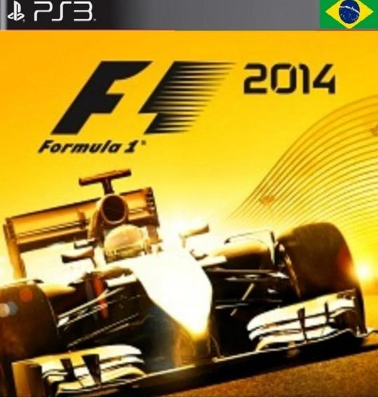 F1 14 Ps3 Midia Digital Codigo Psn Dublado Envio Imediato