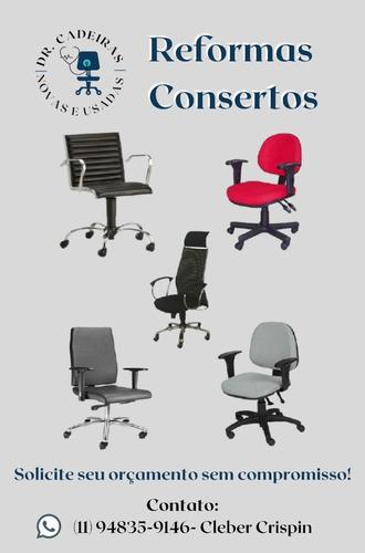 Imagem 1 de 5 de Consertos E Reformas De Cadeiras  Baias,call Center,igrejas!