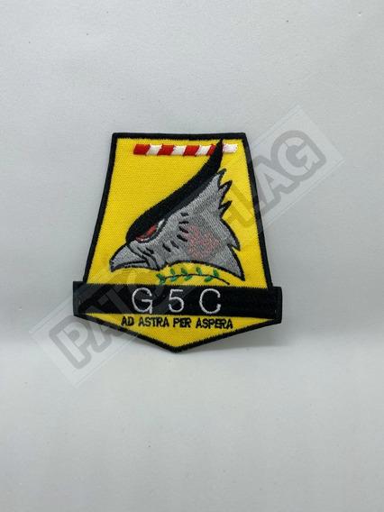 Parche Bordado Grupo 5 De Caza Fuerza Aerea Argentina