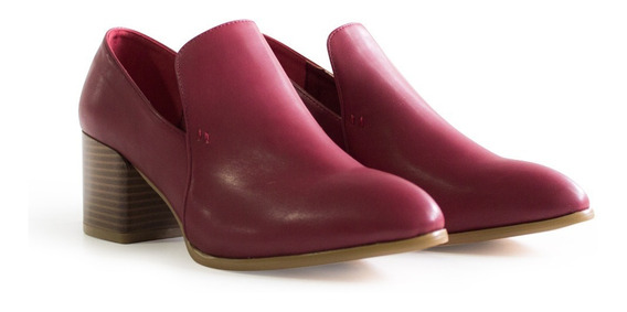 Zapato Mujer Xl Extra Large Tere Bordo