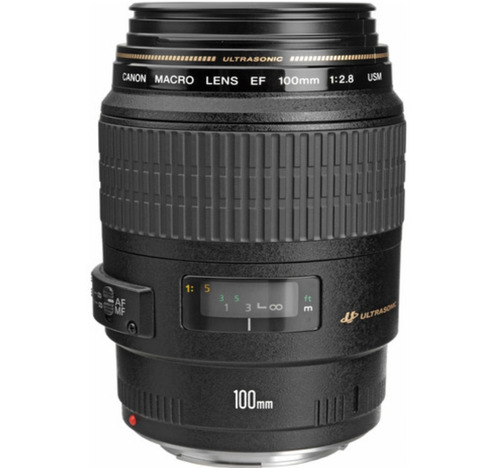Lente Canon Usm Macro Ef 100mm F / 2.8