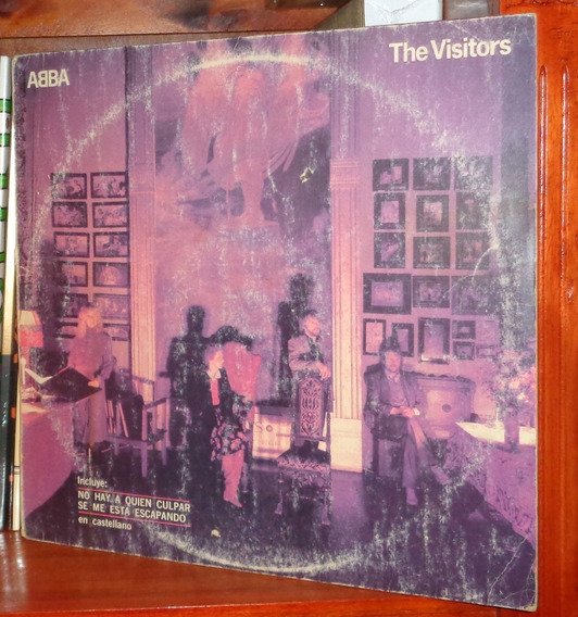 Abba - The Visitors - Vinyl Arg.