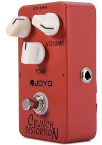 Jf-03 Pedal Joyo Leve Crunch Ao Potente Distortion Guitarra