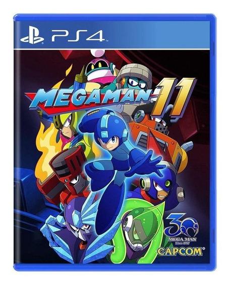 Mega Man 11 Ps4 Mídia Física Pronta Entrega