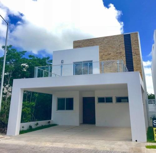 Rento Casa Res. Aqua Amueblada,equipada,3 Rec 4 Baños Alberc