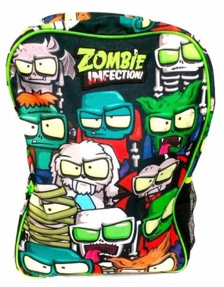 Zombie Infection Mochila 17 Pulg Espalda 4 Modelos P Elegir