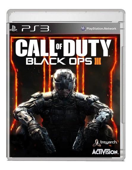 Call Of Duty Black Ops 3 Midia Fisica Ps3 Pronta Entrega