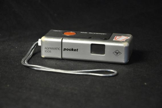 Câmera Agfamatic 1008 Pocket Sensor Usada Para Coleção