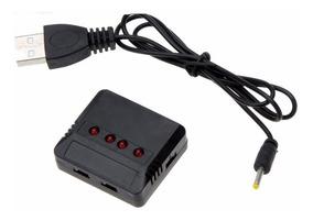 Carregador Multiplo 4 Baterias X5c / Hubsan Pronta Entrega