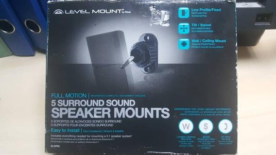 Base De Corneta Pared Home Theater Speaker Level Mount 5pza