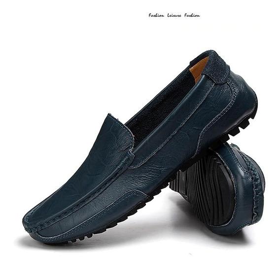 Zapatos Casuales De Cuero