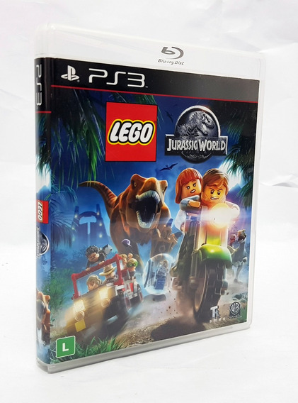 Lego Jurassic World - Ps3 Mídia Física