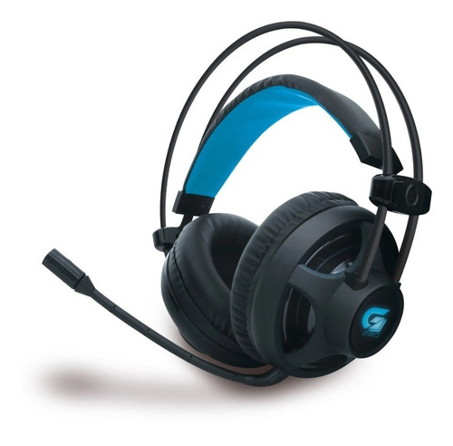 Imagem 1 de 5 de Headset Gamer Com Microfone Fortrek G Pro H2 - Preto Azul