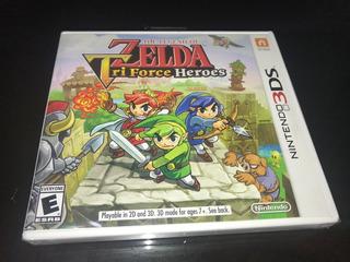 Zelda Triforce Heroes Nintendo 3ds Nuevo Sellado