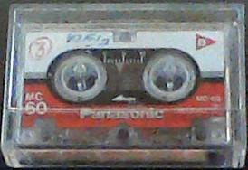 Fita Micro Cassete Mc-60 Panasonic