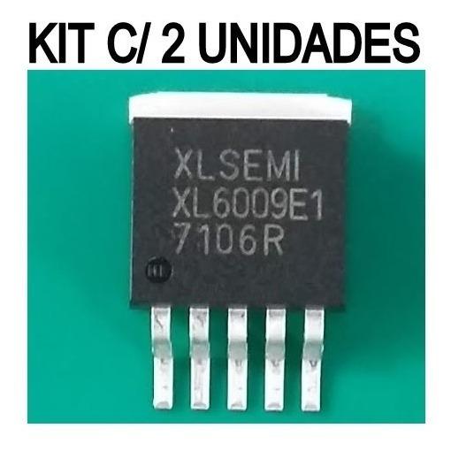 Xl6009e1 ( Kit C/ 2 Unidades ) Transitor Xl6009 E1 Novo