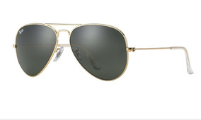 f2aedff54 Rayban Aviador - Óculos De Sol Aviator no Mercado Livre Brasil