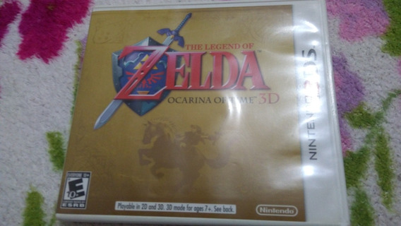 Zelda Ocarina Of Time 3ds