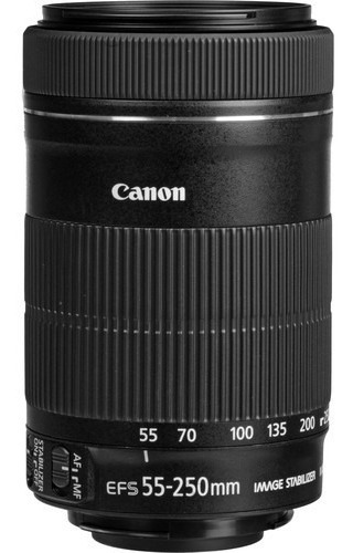 Lente Canon Ef-s 55-250mm F/4-5.6 Is Stm Garantia Br