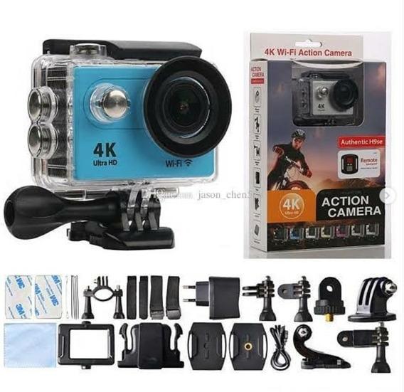 Câmera 4k Wifi Action