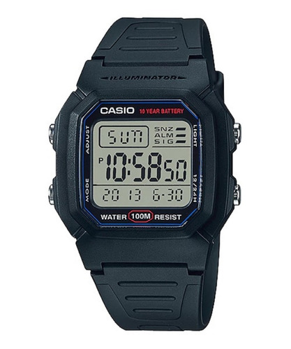 Reloj Casio W800h 2da Zona Horaria Garantía Originalidad