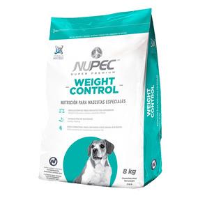 Croquetas Alimento Perro Mediano Weight Control Nupec 8 Kg
