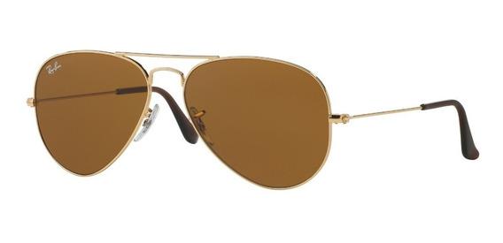 Gafas De Sol Aviador Ray-ban® Aviator Brown