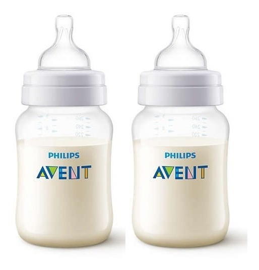 Pack 2 Mamaderas Avent Classic 260ml