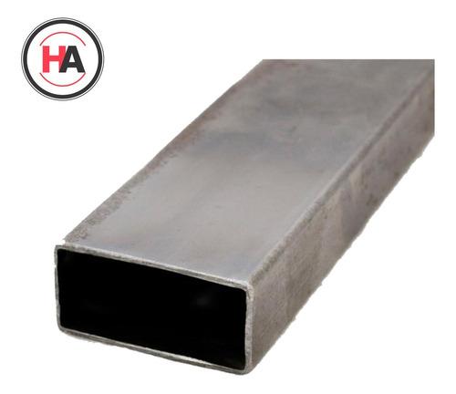 Caño Estructural Rectangular 50 X 30 X 2mm - Barra 6mts - Ha