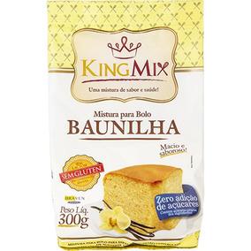Mix De Bolo Zero Açúcar De Baunilha 300g - King Mix